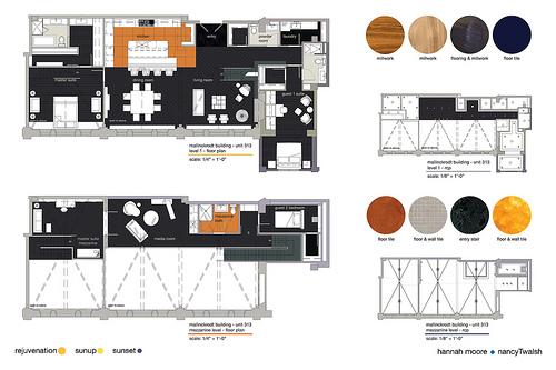 Residential design competition my harrington college of - Harrington institute of interior design ...